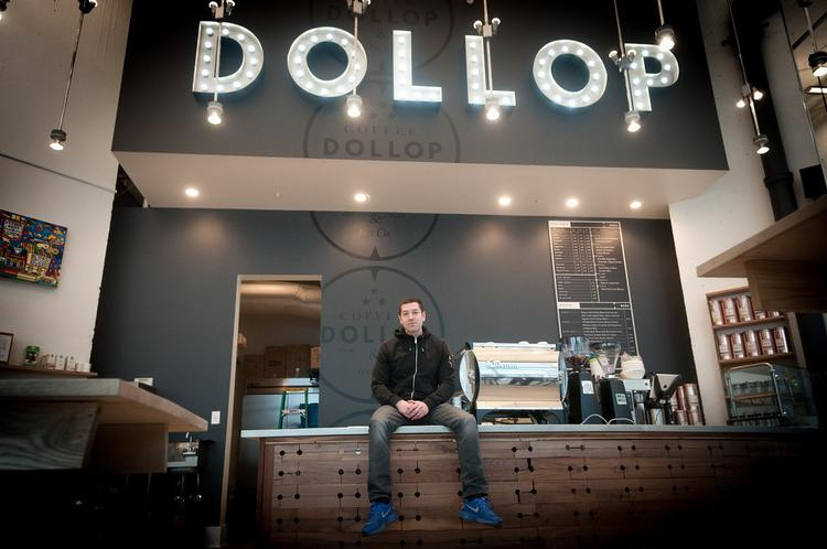 Dan Weiss owns and operates three coffee shops in Chicago.  His newest outlet opened in Chicago's Streeterville neighborhood late last month.