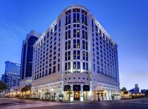 Downtown Orlando's Grand Bohemian Hotel as well as the Bohemian Hotel in Celebration are being sold to Inland American Real Estate Trust Inc.