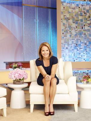 "Katie Couric's new talk show ""Katie"" wound up in second place in its time slot in Chicago after its first two days on the air."