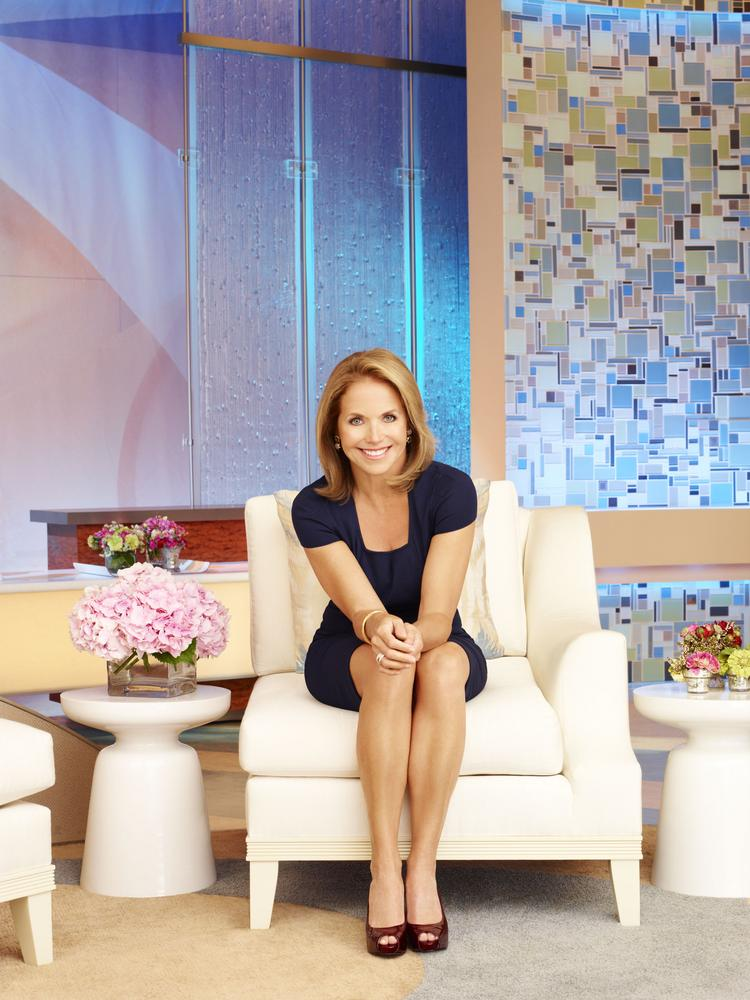 """Katie Couric's new talk show """"Katie"""" wound up in second place in its time slot in Chicago after its first two days on the air."""