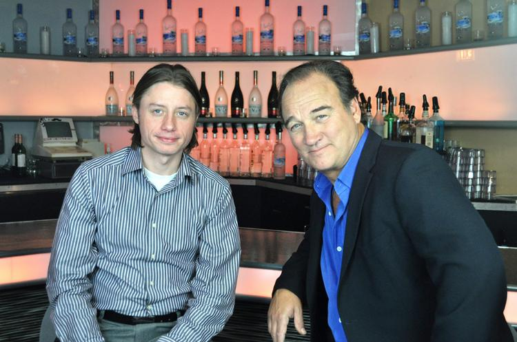 Jim Belushi (right) is new co-owner with Kyle Lane of the Comedy Bar in Chicago.