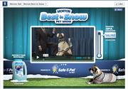 DDB developed the Facebook site, among other things, to allow visitors to post images of their pets prepared for winter weather.