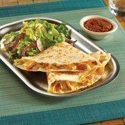 Quesadillas are a popular item on the Frontera Fresco menu.
