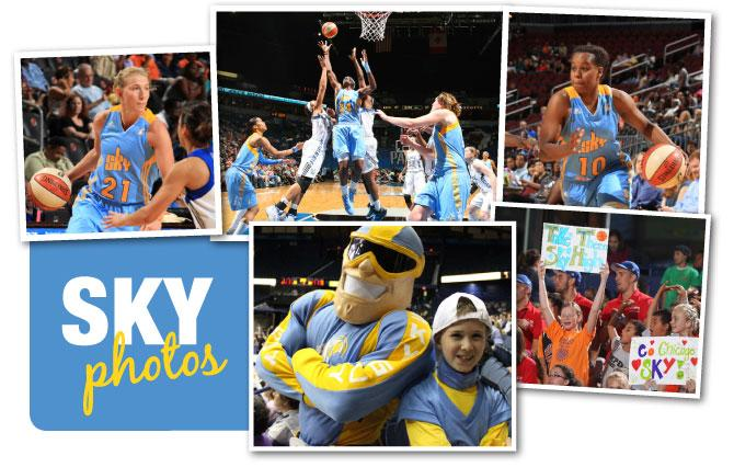 Chicago Sky is getting wider exposure as its games air this season on and ESPN, WCIU, The U and The U Too.