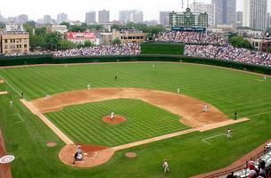 The Cubs cannot make major changes to Wrigley Field without approval from the city's landmarks commission.
