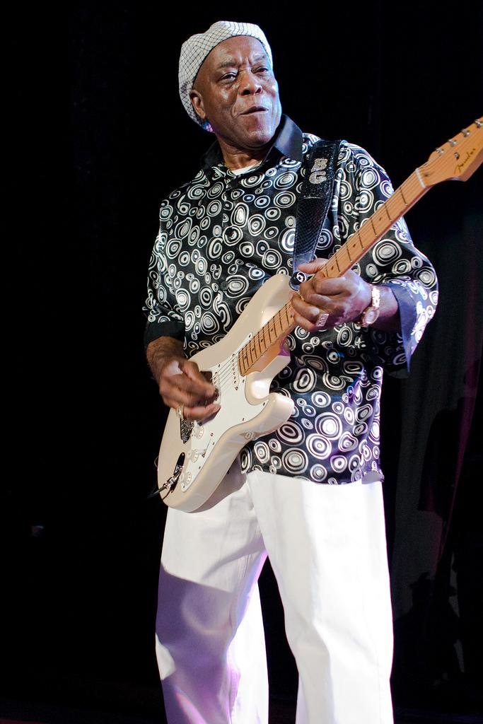 Buddy Guy was a 2012 Kennedy Center honoree.