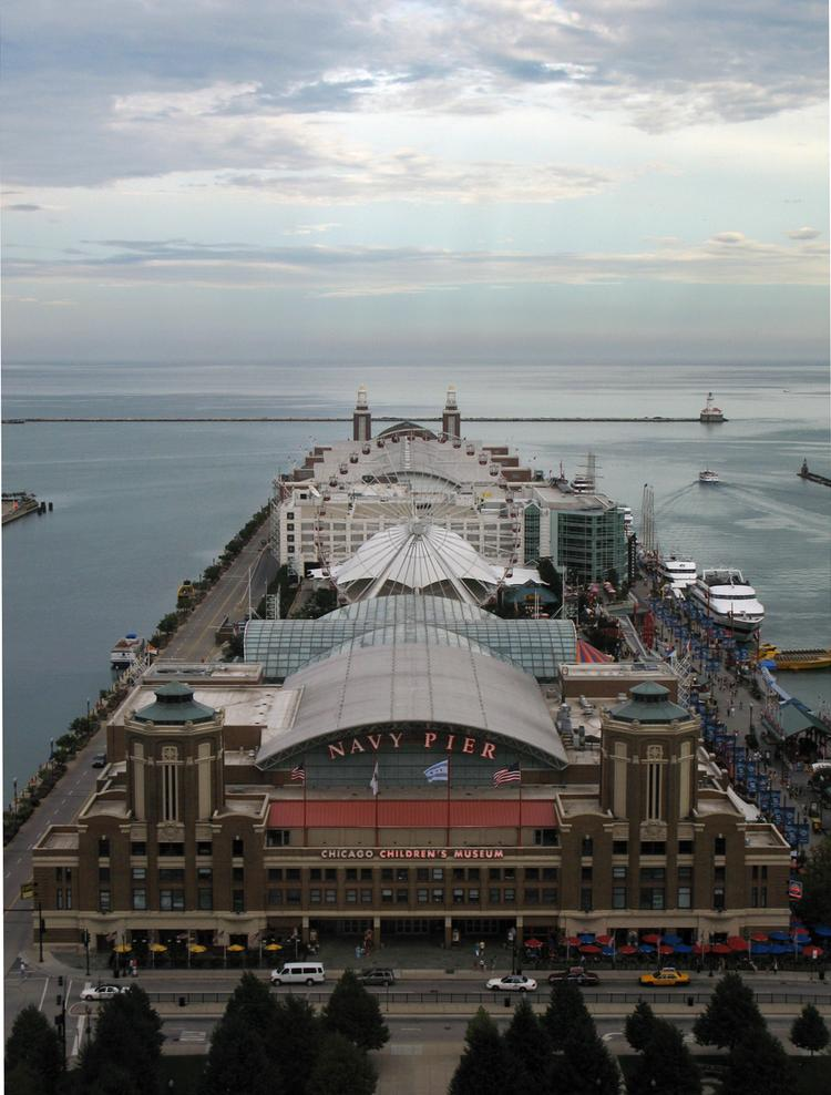 Chicago's Navy Pier saw both visitors and sales increase in 2012.