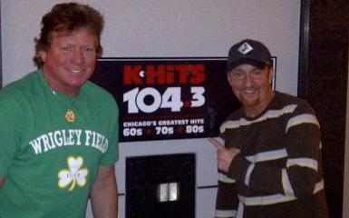 "Ed Volkman and Joe Bohannon were dropped from classic rock station WJMK-FM, often referred to as ""K-Hits."""