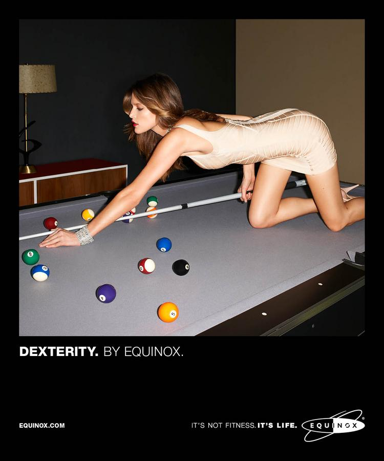 """The new Equinox campaign tagline is """"It's Not Fitness. It's Life."""""""