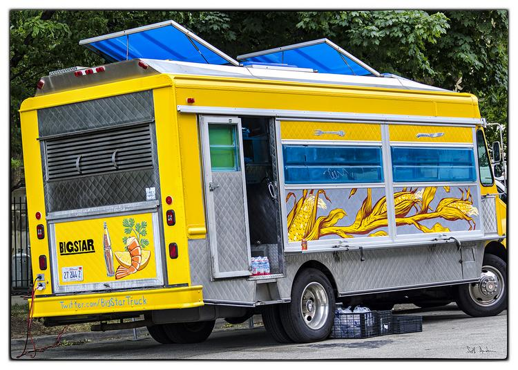 Eating from a food truck isn't quite the same as ordering at a traditional restaurant.