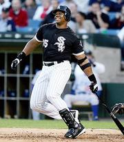 "Former Chicago White Sox player Frank Thomas also will be honored as a ""Team Legend."""