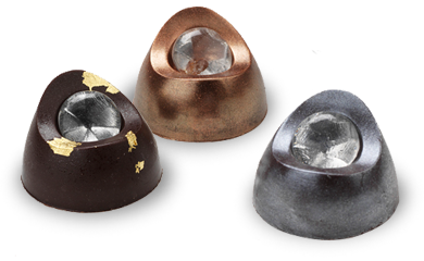 Academy Awards nominees got to take home diamonds of the chocolate kind, made bySchaumburg-based Chocolatines.
