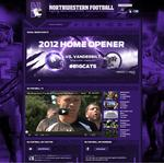 Northwestern Wildcats debut social media site
