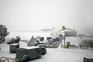 O'Hare is expected to see flight delays due to a winter storm.