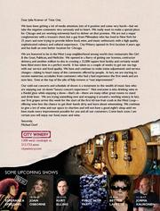 City Winery owner Michael Dorf took out a full page ad in Time Out Chicago to respond to her review.