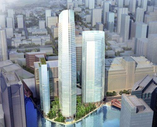 The Chicago Plan Commission is delaying a vote on a three-tower $1 billion development planned for Wolf Point.