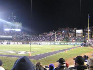 Wrigley Field football