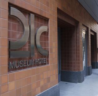 21c's hotel in Cincinnati, which opened in November, was named the No. 1 hotel in the United States  and the No. 11 hotel in the world in the Conde Nast Traveler Readers' Choice Awards.