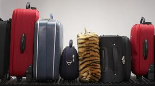 American Airlines is allowing travelers without carry-on bags to board early at Fort Lauderdale-Hollywood International Airport.