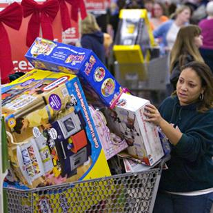 Black Friday in 2010. People had to get up early that year, but retailers are increasingly pushing sales hours in into the Thanksgiving-evening hours.