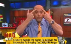 Financial analyst Jim Cramer