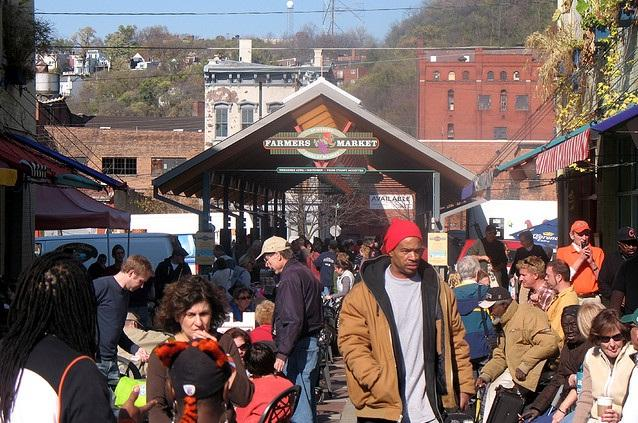 Findlay Market in Over-the-Rhine has the most votes, so far, for favorite farmers market in Ohio.