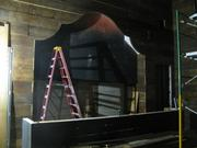 Second-floor bar being built where Barleycorn's bar used to be.