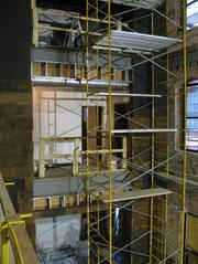 Rear of second floor will include a kitchen for meetings and events.