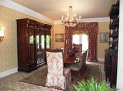 A dining room at 8680 Shawnee Run Road.