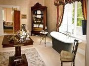 A look at the home's master suite bathroom.