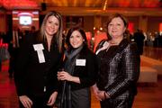 Tricia Sunders of the Better Business Bureau, Angela Santarpia of the Cincinnati Ballet and Jocile Erlich, CEO of the BBB.