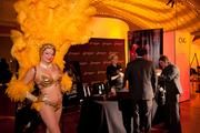 Leave it to the Horseshoe Casino Cincinnati to add some glitz and glamor to our event. Their showgirl stole the show.