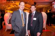 Paul Hillenmeyer of Heritage Bank and Richard Colvin of Strauss Troy.