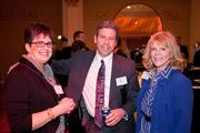 Debra Savage of Bioformix, Larry Hoelscher of Trustaff and Sandra Vogel of MYCA Training and Development.