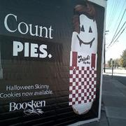 2012The Frisch's team turned the skinny cookie into a Big Boy cookie, marking the start of this year's pie war.