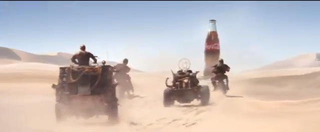 Coca-Cola Super Bowl add drew huge online response