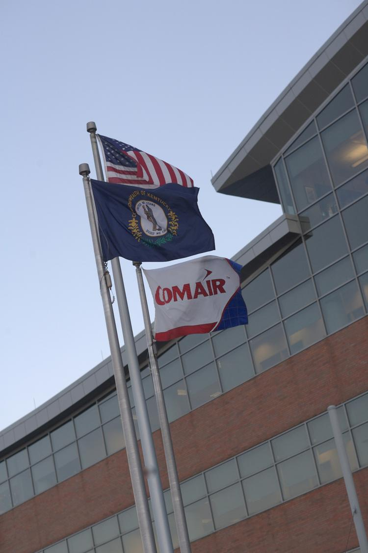 Comair's headquarters was formerly located on South Airfield Road.