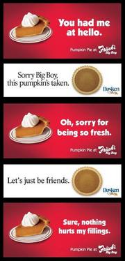 2011The Pie War played out on social media. Here's a look at the back and forth that took place on Facebook.