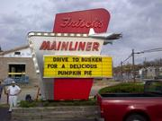 2012And after the Busken prank. People called the police while the Buskens were changing the sign, but Frisch's had a heads up, since this is a friendly war.