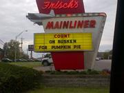 2012The brothers Busken, CEO Dan and Vice President of marketing Brian, went to the Frisch's Mainliner on Wooster Pike to retaliate for the skinny cookie prank.