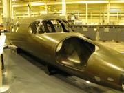 MAG is the world leader in fiber-placement and tape laying machines that produce aerospace components from carbon composites. This fuselage for an executive jet used to be assembled from 2,000 parts. It's now made from two, front (pictured) and rear.