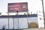 """2012Going back to the Madison Road billboard, Busken not only put up its sign, it made a few changes to Frisch's. The billboard used to say, """"Hard to Be Humble Pie"""" and """"Award-Winning Pumpkin Pie at Frisch's Big Boy."""""""