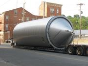 The new tanks will be used for fermentation and aging.