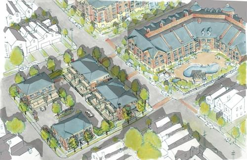 Phase two of Stetson Square will welcome its first residents by fall 2013.
