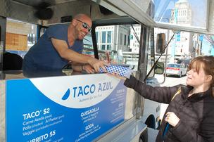 The owners of Taco Azul will open a permanent location in Northside.