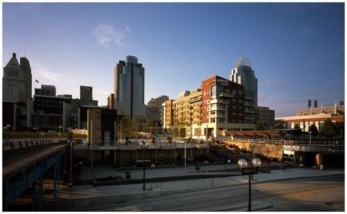 A look at The Banks, a main component of Cincinnati's award-winning central riverfront plan.