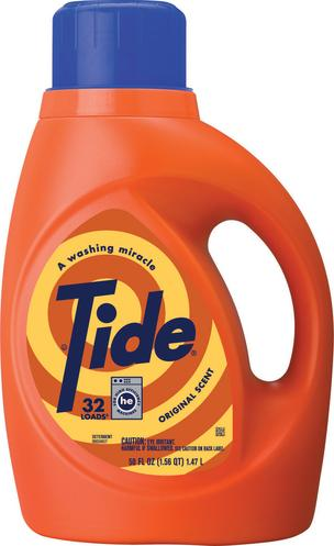 Procter & Gamble, Tide changing formula