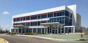 The facility, at 2000 Joseph E. Sanker Blvd., consists of 55,000 square feet, including an outpatient surgery center.