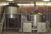 Kettles at the Moerlein brewery, where the beer is actually made.