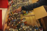 Canned goods are part of the 1,000-plus meals that are expected to be distributed this year.